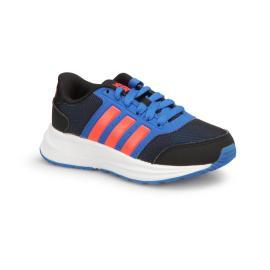 حذاء رياضي للاولاد باللونين الازرق الفاتح والغامق من ماركة اديداس