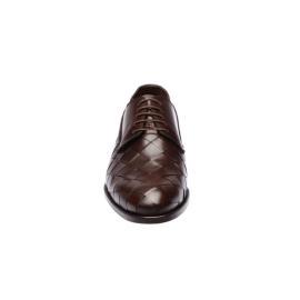 دانتيل - حذاء صدفي مجذل جلد طبيعي 100%
