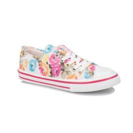 حذاء للبنات (سنيكر) ملون بالوان مختلفة
