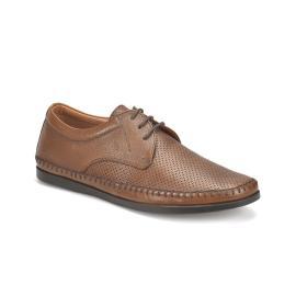 حذاء جلد طبيعي  رجالي ماركة فلو التركية