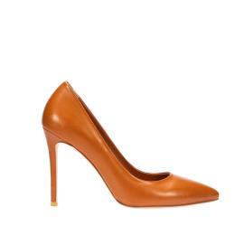 حذاء كعب عالي جلد طبيعي