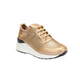 سنيكر - الحذاء الذهبي المنمق