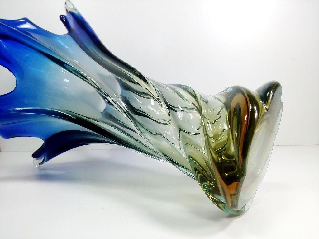 مورانو مزهرية زجاج ايطالية