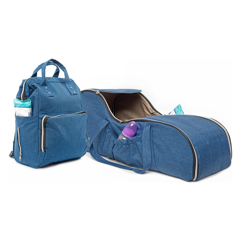 سرير الطفل المتنقل مع حقيبة هدية