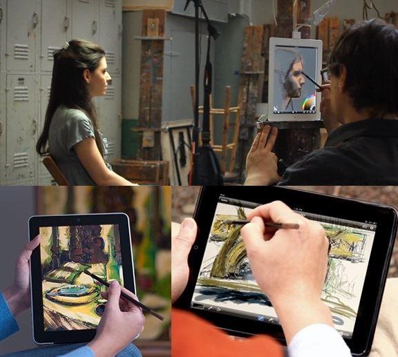فرشاة الرسم الذكية للاجهزة الذكية