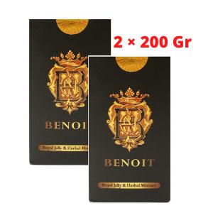 عسل القوة الفائقة الجديد BENOIT الطبيعي عدد  2× 200 غرام